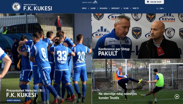 F.K Kukësi – Sport Team