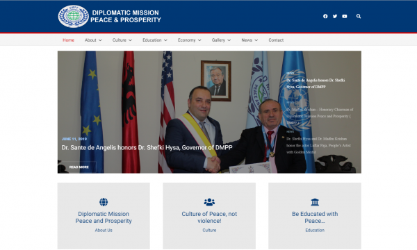 Diplomatic Mission Peace and Prosperity